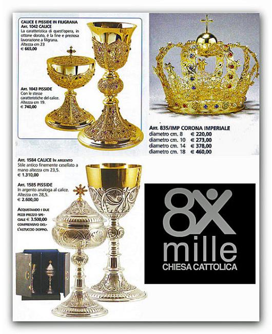 tesoro-chiesa-cattolica-oro-argento