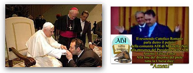 ● Pericolose somiglianze tra le ADI e la Chiesa Cattolica Romana