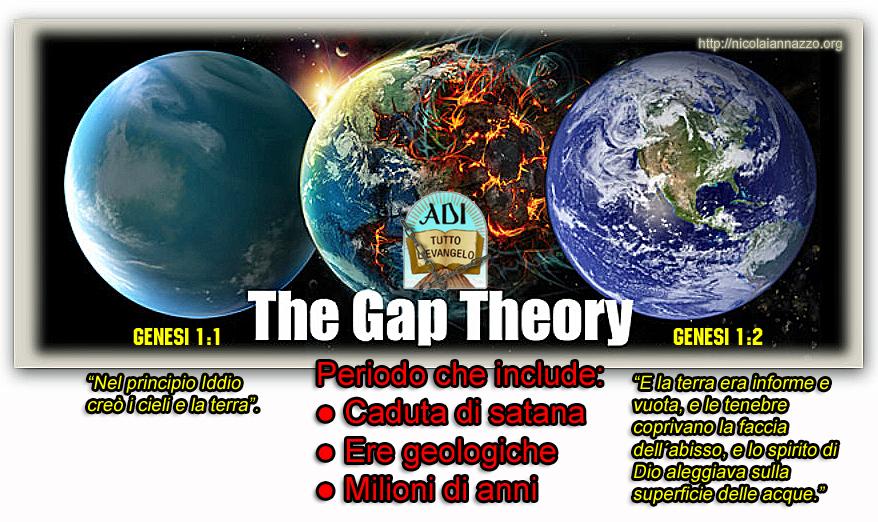 ● Le ADI insegnano la gap-theory, che è una eresia