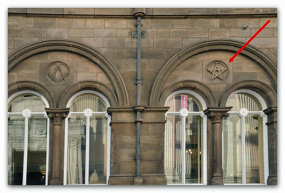 stella-cinque-punte-masonic-hall