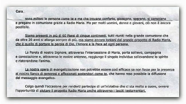 RadioMaria-Lettera-Testamento