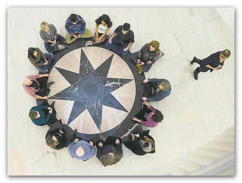black-star-meditazione