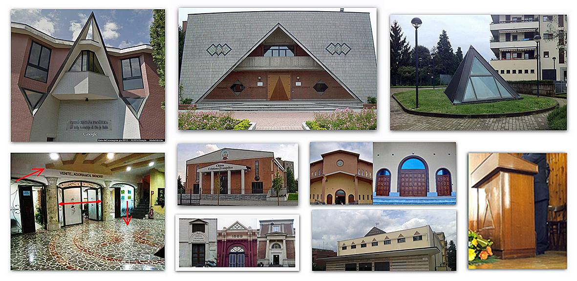 ● Lista aggiornata di locali di culto ADI con simbologie occulte, massoniche ed esoteriche